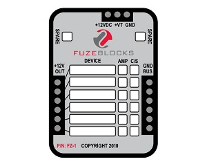 Fuzeblock FZ-1 Replacement Decal